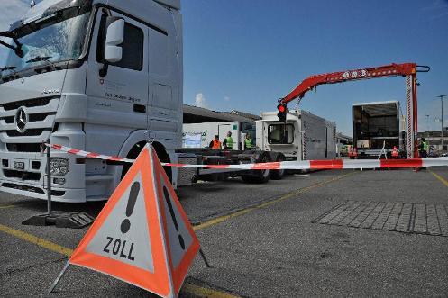 Mobiler Lastwagen-Scanner
